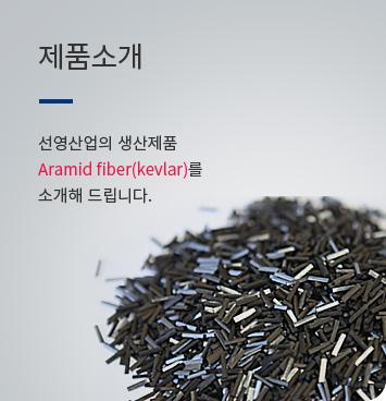 Aramid fiber(kevlar)